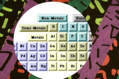 What is an example of a semi-metal?